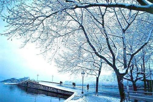 杭州西湖十景 断桥残雪